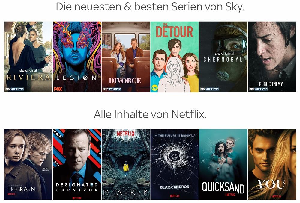 Sky Netflix Angebot