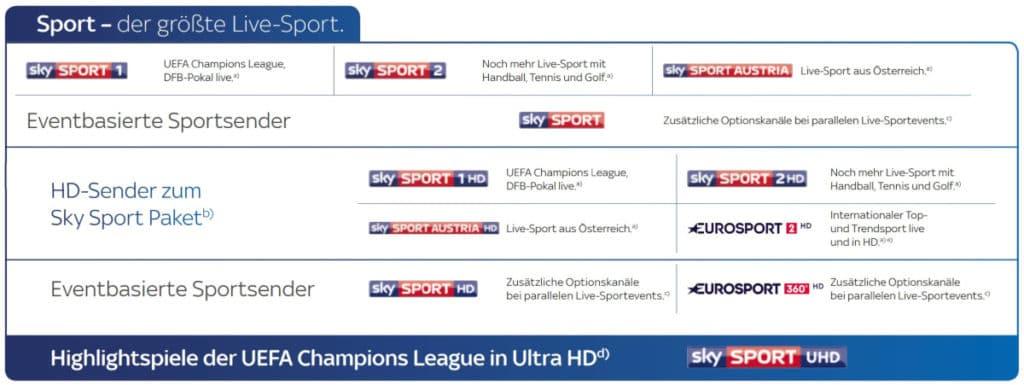 Sky Sport Sender