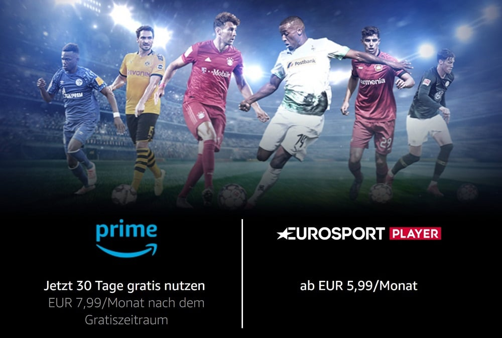 Eurosport Player über Amazon Prime
