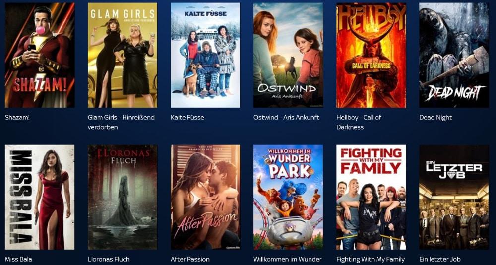Sky Store Filme leihen und kaufen