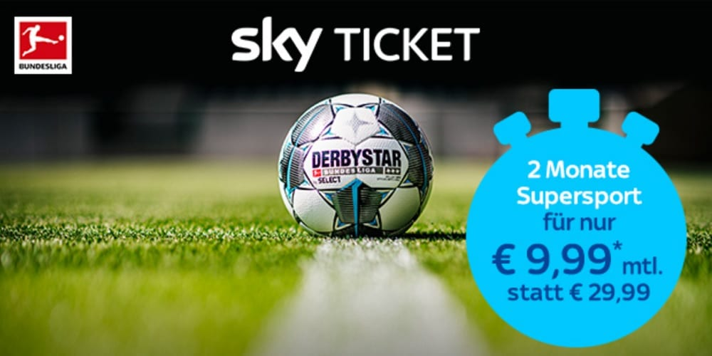 Sky Ticket Rückholangebot Supersport