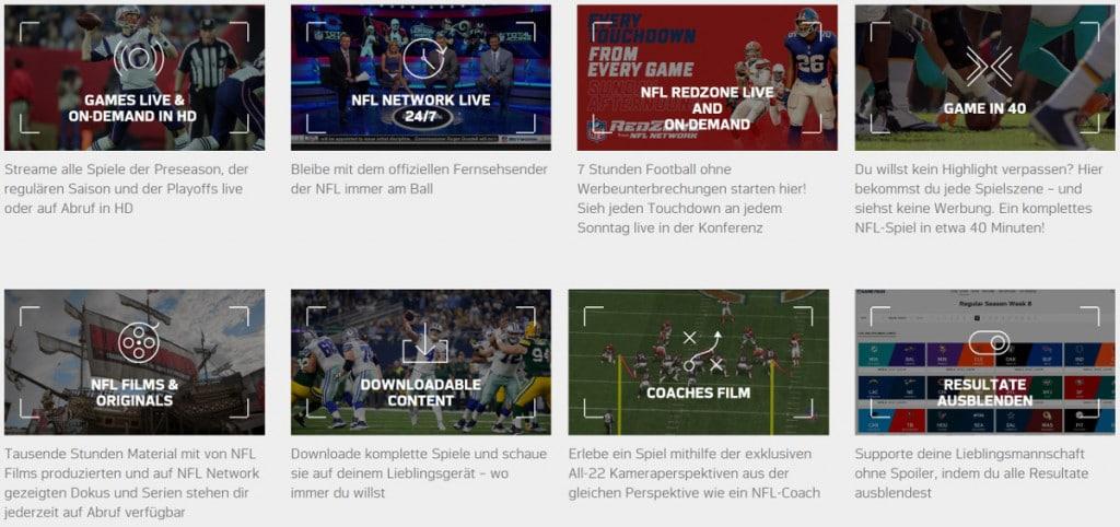 NFL Gamepass - American Football im Livestream