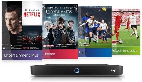 Sky Komplett Angebot mit Netflix