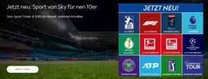 Sky Sport Ticket Monat