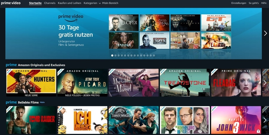 Amazon Video Angebot