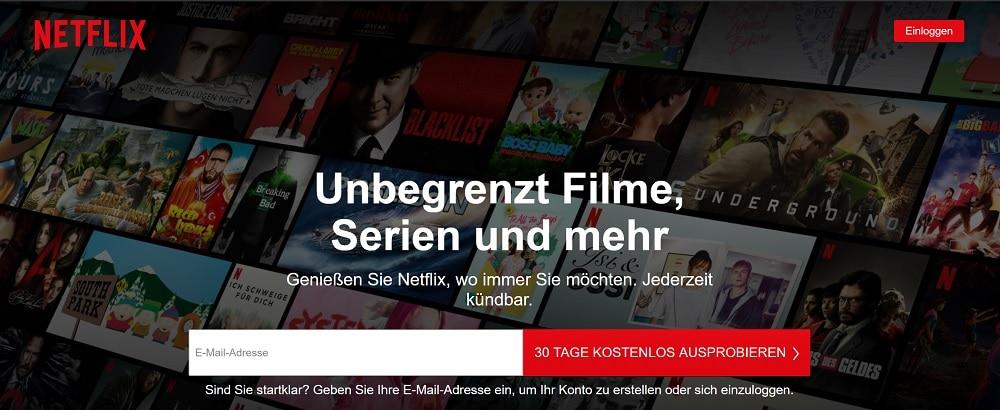 Netflix Probemonat