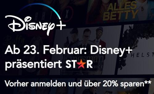 Disney+ Angebot