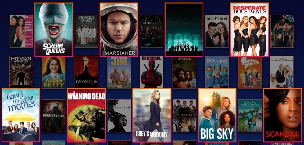 Disney Plus Star Serien