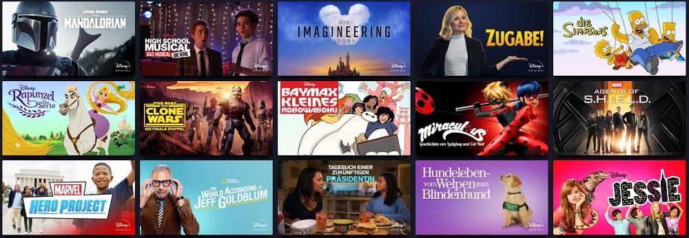 Disney+ Serien