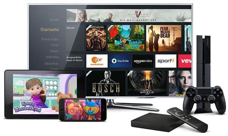 Amazon Prime Video Geräte gleichzeitig nutzen