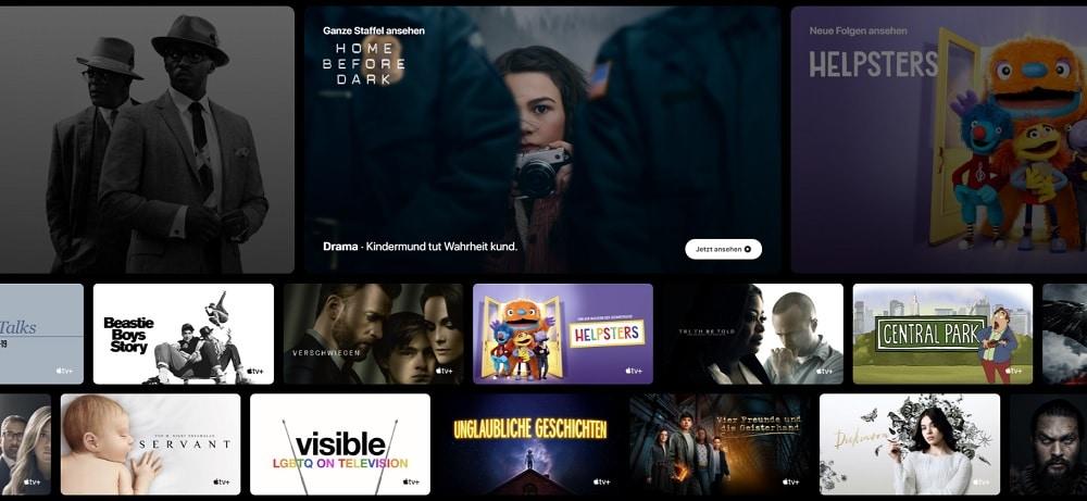 Apple TV+ Serien und Filme