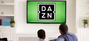 DAZN auf TV schauen