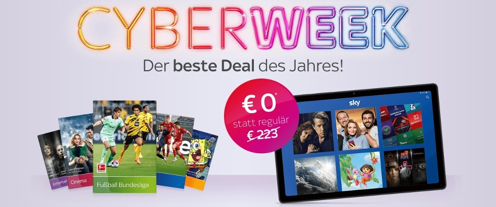 Sky Black Friday Angebot 2020