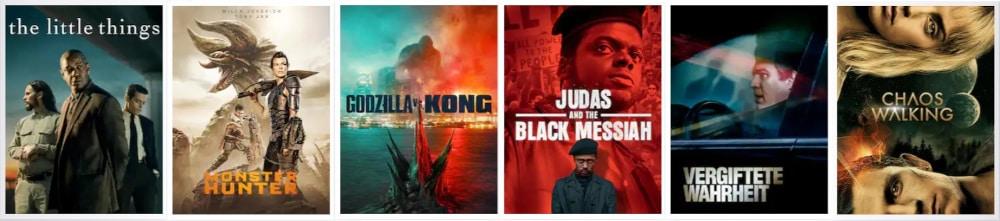 Sky Cinema Programm - aktuelle Filme