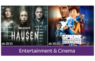 Sky Entertainment + Cinema Ticket