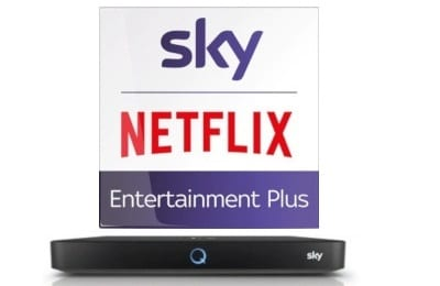 Sky Entertainment Plus inklusive Netflix