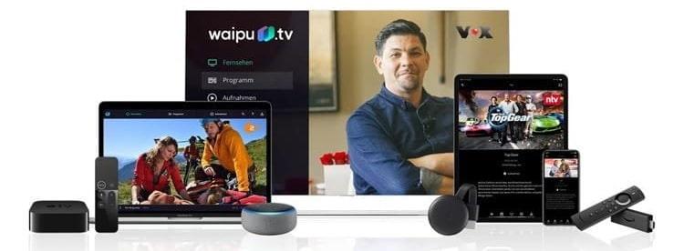 Waipu.tv Geräte