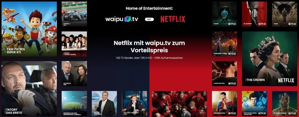 Waipu.tv Netflix