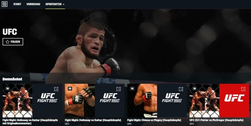 DAZN UFC