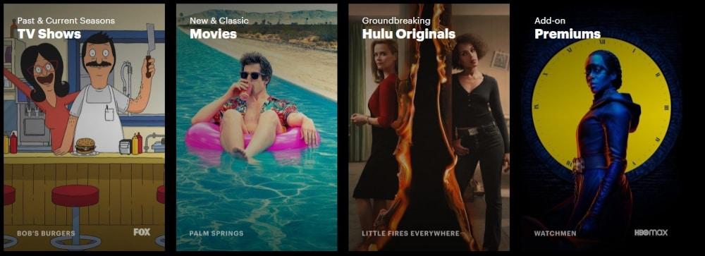 Hulu Serien und Filme