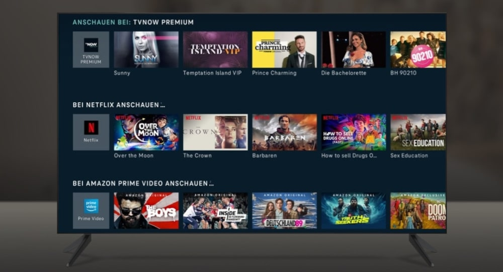 Magenta TV Now mit Netflix TVNow Disney+