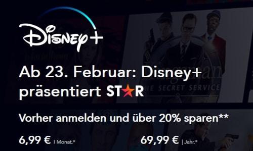 Disney+ Star Kosten