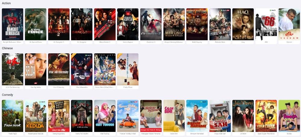 Iflix Angebote - Filme und Serien