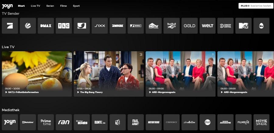 Joyn TV Stream