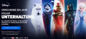 Disney Plus Geschenkkarte