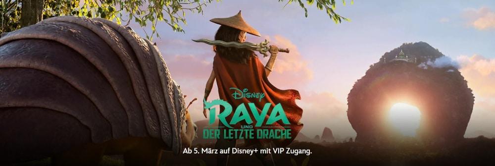 Disney Plus VIP-Zugang - Raya und der letzte Drache