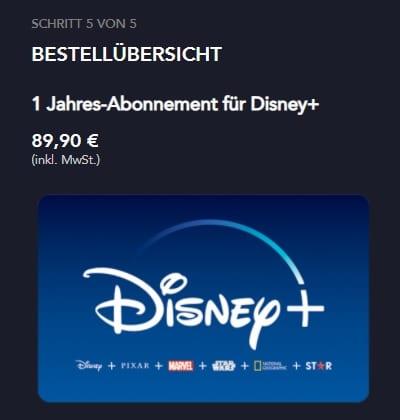Disney Plus verschenken