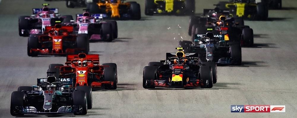Formel 1 Livestream und TV-Übertragung