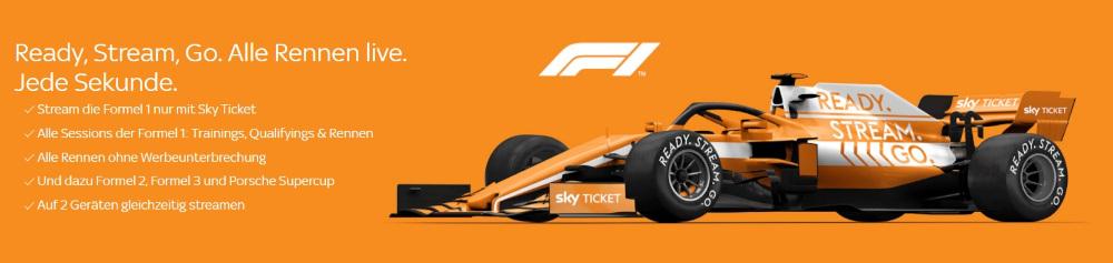 Formel 1 Übertragungen