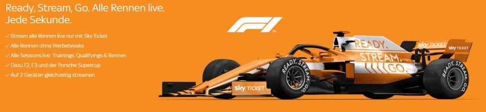 Sky Ticket Formel 1