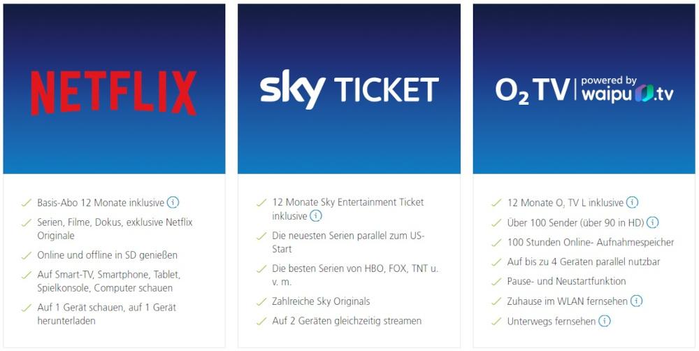 o2 TV kostenlos testen - Select & Stream