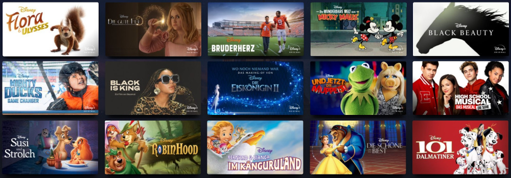 Disney Programm