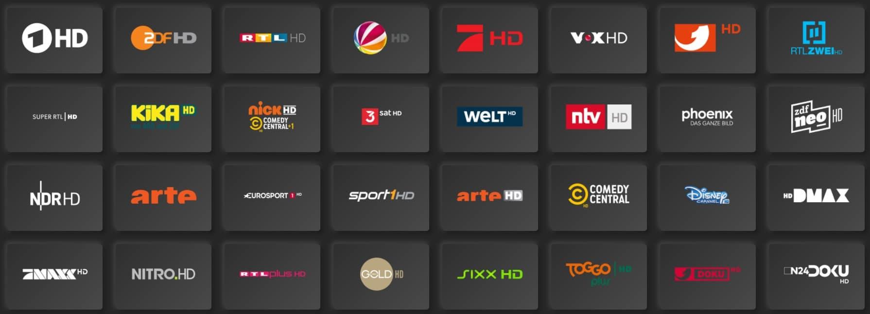 Magenta TV HD Sender