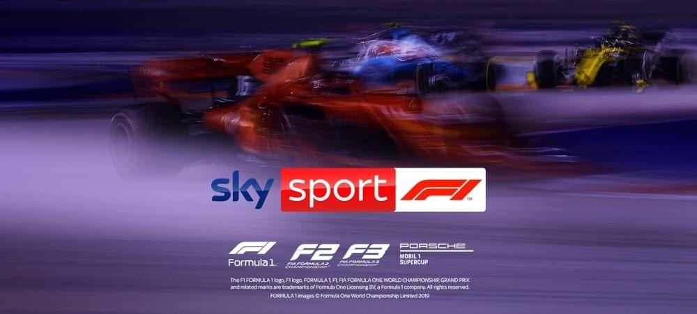Neuer Sky Sender - Sky Sport F1
