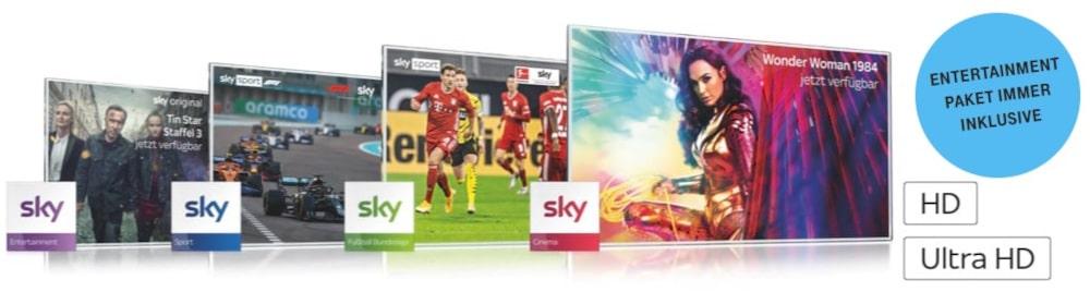 Sky IPTV über Magenta TV