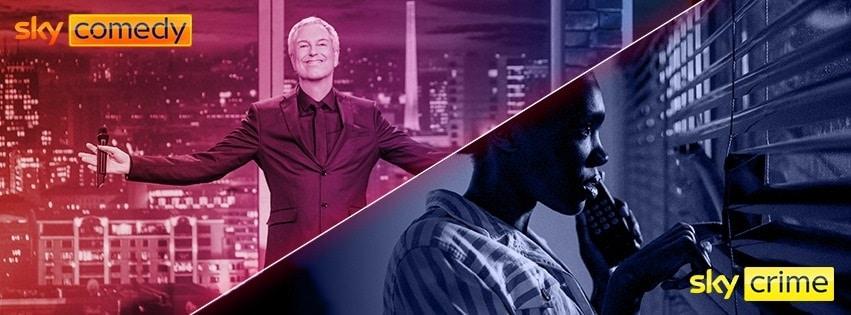 Sky neue Sender - Sky Comedy & Sky Crime