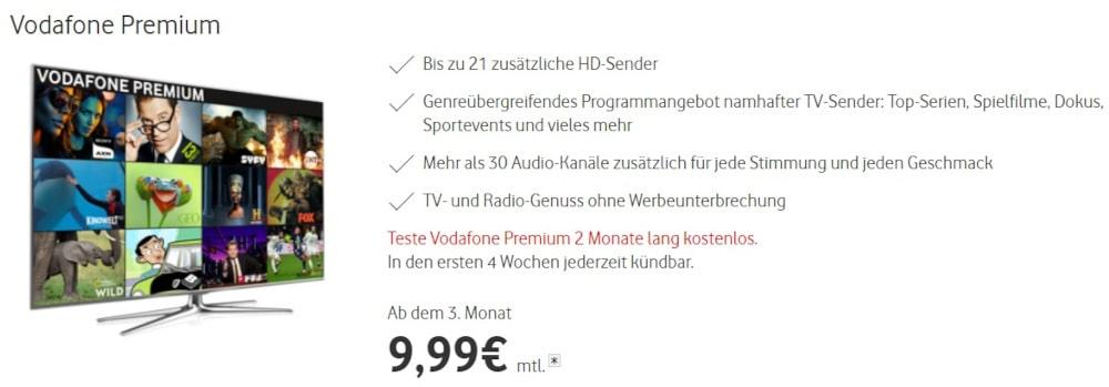 Vodafone TV Premium