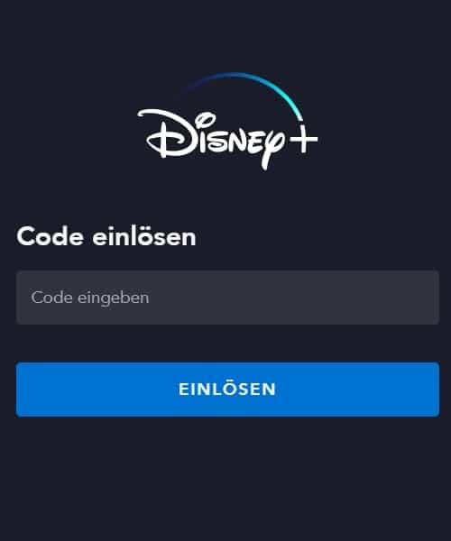 Disney Plus Gutschein einlösen