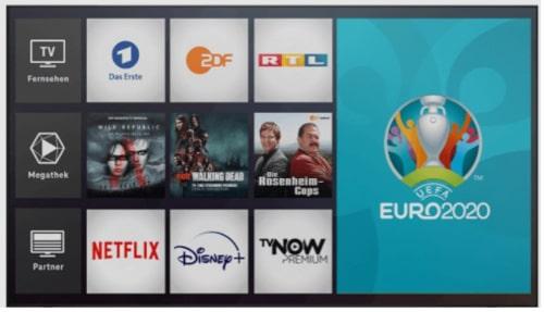 Magenta TV Angebot Fußball Europameisterschaft 2021