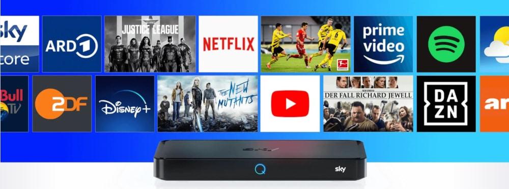 Sky Q Apps - TV Now