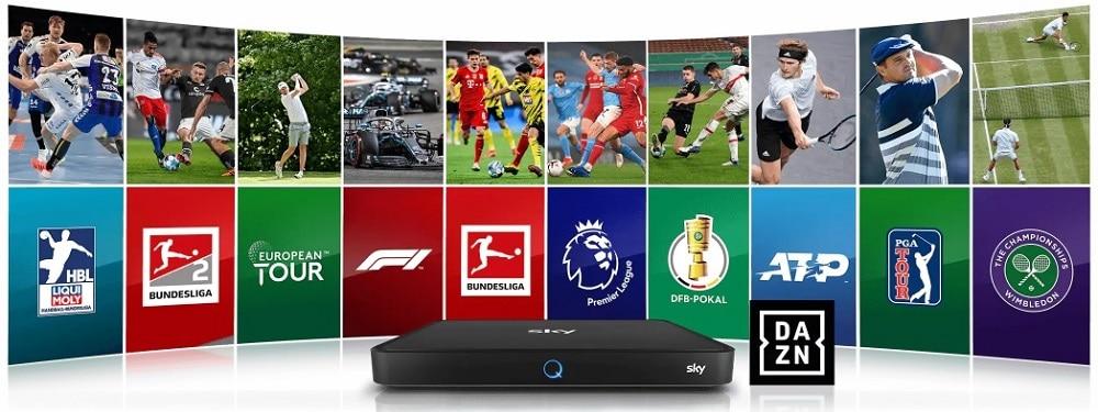 Bundesliga Sky und DAZN Kombiangebot