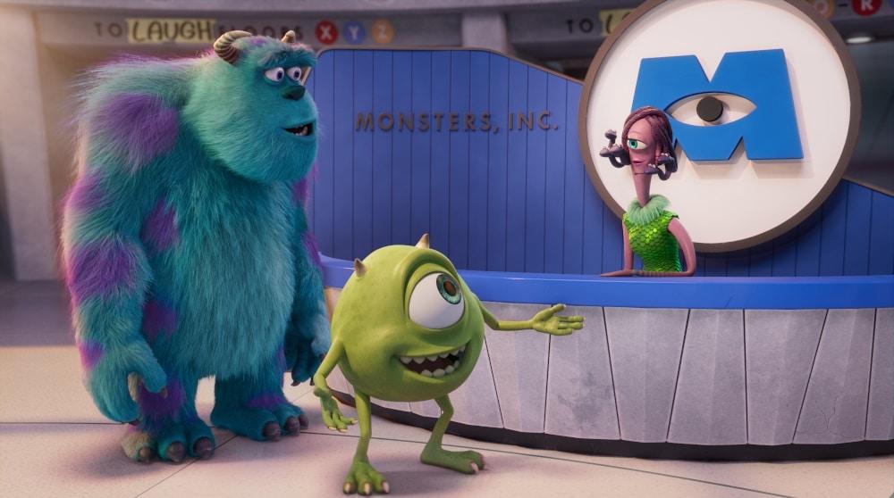 Monster bei der Arbeit Serie