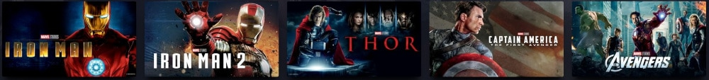 Marvel Chronologie - Phase Eins