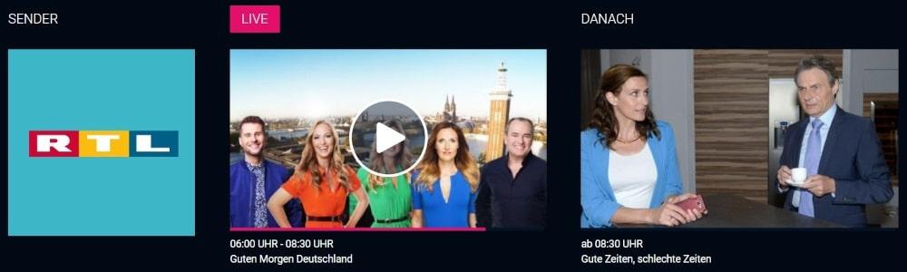 RTL Live Stream kostenlos