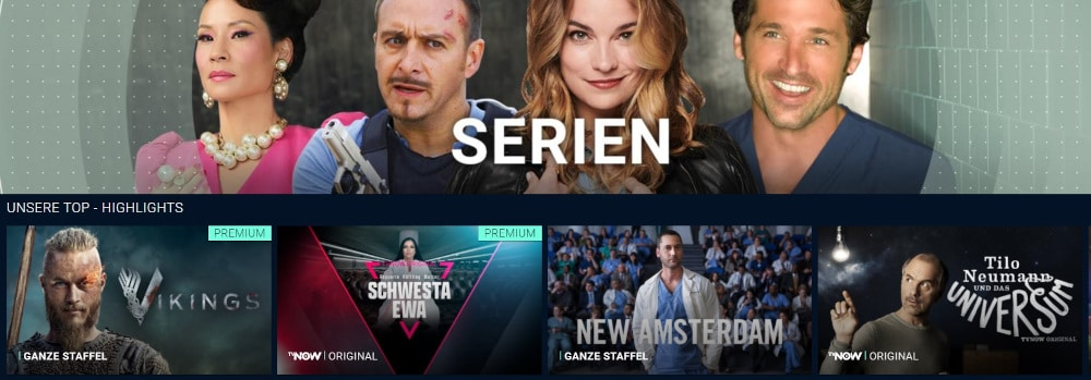 TVNOW Serien