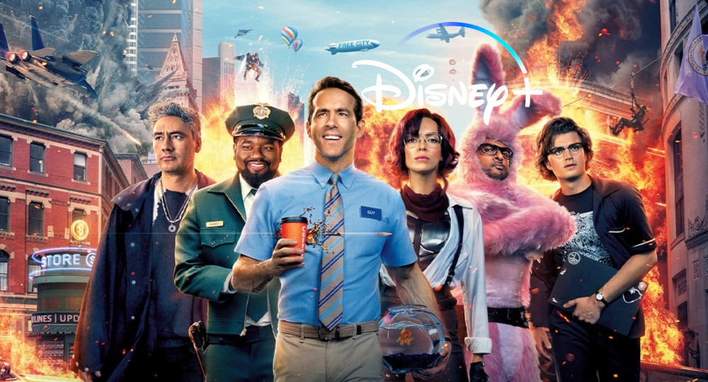 Free Guy Disney Plus